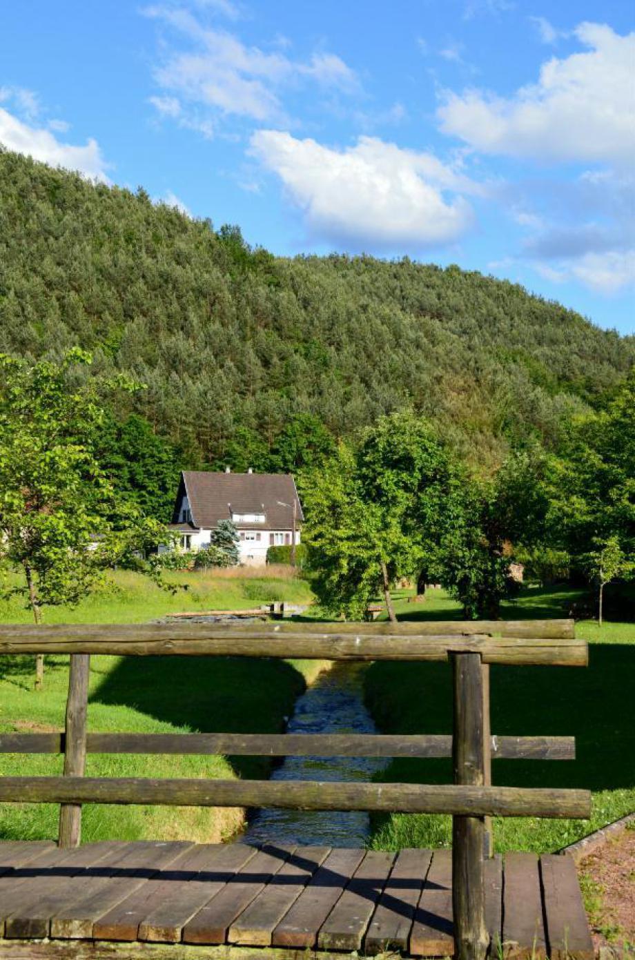 gite à Sturzelbronn Vosges du Nord Bitche Niederbronn. Ferienhaus in den Nord Vogesen in der nähe von Bitche.