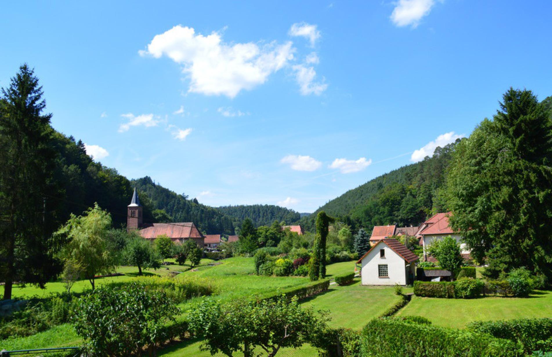 Le gite de l'écureuil à Sturzelbronn dans les Vosges du Nord proche de Bitche et Niederbronn pour vos vacances. Ferienhaus in den Nord Vogesen in der nähe von Bitche.
